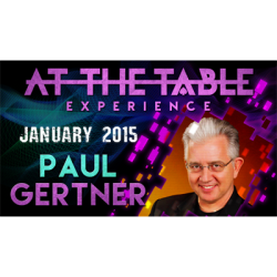 At the Table Live Lecture – Paul Gertner 01/07/2015 – video DOWNLOAD